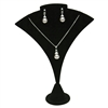 240-8 (BK)Curved Earring/Pendant Stand