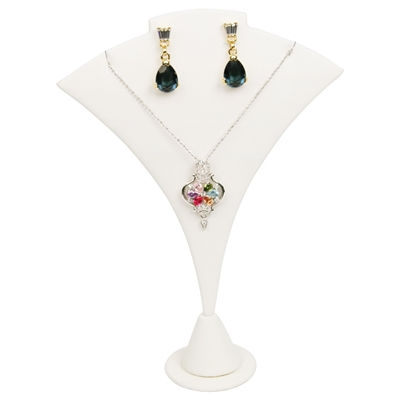 240-8L (WH)Curved Earring/Pendant Stand