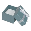 3111/MB BLUE/WHITE BOW RING BOX