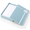 3118/MB BLUE/WHITE BOW NECKLACE BOX