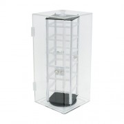 3201 Rotating Acrylic Earring Case