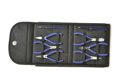 46.395 Complete Plier/Tweezer Tool Set – 8 Pieces
