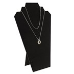 60-1L(BK) Necklace Display with Easel