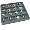 97-16(G) Flocked Tray Insert-16 Compartment-Half Size