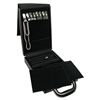 AC-1L2 Jewelry Organizer Travel Case with Combination Lock