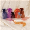 BX1294-(MX) Assorted Colors Organza Drawstring Pouches