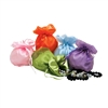 BX1412 Assorted Organza Pouches w/ Solid Colors.