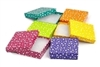 BX2833-PD Polka Dot Cotton-Filled Boxes Assorted Color