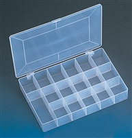 BX86 Frosted Plastic Organizer
