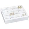ET916L-WH Stackable Earring Tray