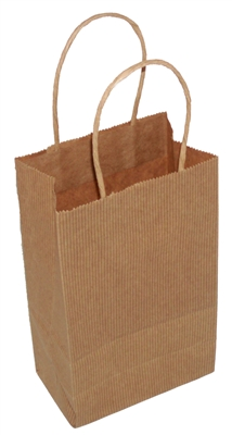 GEM BROWN PLAIN SHOPPING BAGS