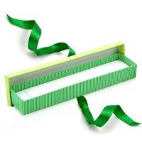 PD42-GR Striped Bracelet Box LIME/GREEN