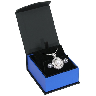 PF4E-BL Magnetic Earring Pendant Box