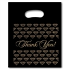 PTYB911  Black/Gold Plastic Bags
