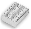 S-2 Cotton-Filled Boxes Silver Color